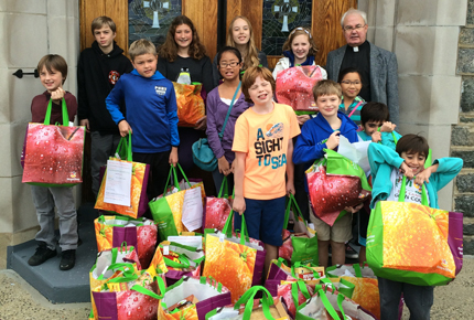 StStephensYouthGroup Thanksgiving Drive